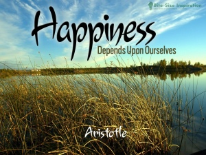 happinessdependsuponourselves